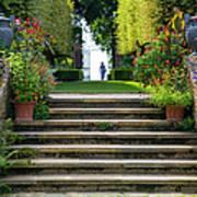 Garden Steps Poster