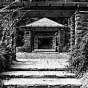 Garden Structure 1bw Poster