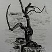 Garden Tree Poster