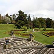 Garden View - Powerscourt Garden Poster