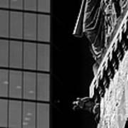 Gargoyle And Glass Poster
