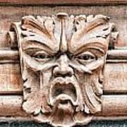 Gargoyle Head Helsingborg Poster