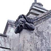 Gargoyle On The Italian Vault Poster