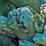 Gargoyles In Mangrove Poster