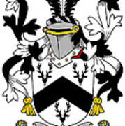 Garr Coat Of Arms Irish Poster