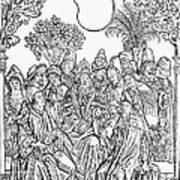 Gart Der Gesuntheit, 1485 Poster