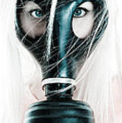 Gas Mask Poster by Jt PhotoDesign
