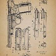 Gas Operated Semi-automatic Pistol Poster