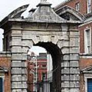 Gate Of Justice - Dublin Castle Poster