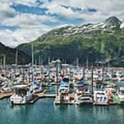 Gateway To Prince William Sound Alaska Poster by Kim Hojnacki