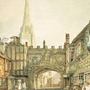 Gateway To The Close, Salisbury Poster
