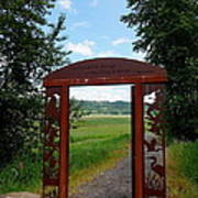 Gateway To The Trail Poster by Lizbeth Bostrom