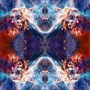 Gateway To The Universe - Carina Nebula Poster