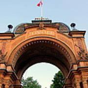 Gateway To Tivoli Gardens Poster