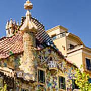 Gaudi Apartment Poster