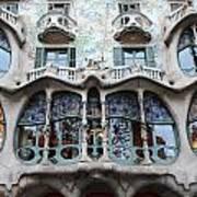 Gaudi Architecture 3 Barcelona Spain Poster