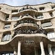 Gaudi Architecture Barcelona Spain Poster