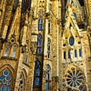 Gaudi - Sagrada Familia Poster
