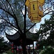 Gazebo With A Lantern Poster