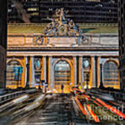 Gct From Park Ave Poster
