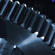 Gears Engineering In Space Poster
