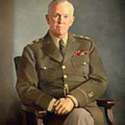 General George C Marshall Poster