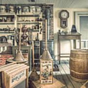 General Store - 19th Century Seaport Village Poster