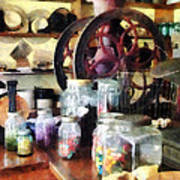 General Store With Candy Jars Poster by Susan Savad
