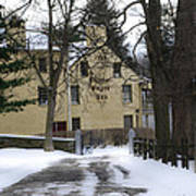 General Wayne Inn In Winter Poster