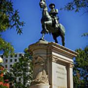 General Winfield Scott Hancock Statue - Washington Dc Poster