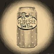 Genesee Bock Beer Poster