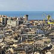 Genova. Panoramic View Poster