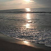 Ocean - Gentle Morning Waves Poster