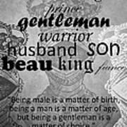 Gentleman 4 Poster
