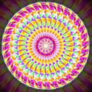 Geo Master Eleven Kaleidoscope Poster by Derek Gedney