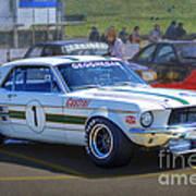 Geoghegan's Mustang Poster