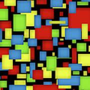 Geometric Art Poster