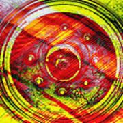 Geometric Colors  Poster