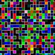 Geometric Pattern 2 Poster