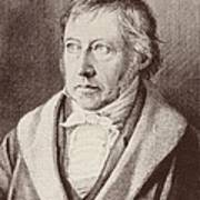 Georg Hegel  Poster