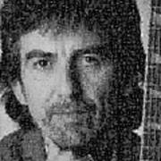 George Harrison Mosaic Image 4 Poster