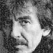 George Harrison Mosaic Image 6 Poster