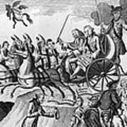 George IIi Cartoon, 1775 Poster