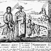 George IIi Cartoon, 1779 Poster