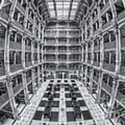 George Peabody Library II Poster