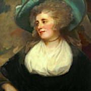 George Romney, British 1734-1802, Lady Arabella Ward Poster