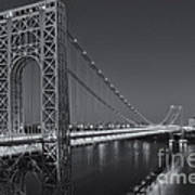 George Washington Bridge Twilight II Poster