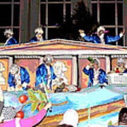 George Washington Float Side View Poster