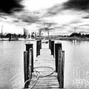 Georgetown Dock Poster by John Rizzuto