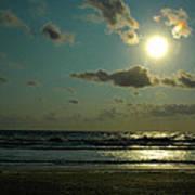 Georgia Coast Sunrise Poster